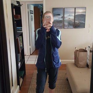Alo Blue Athletic Jacket